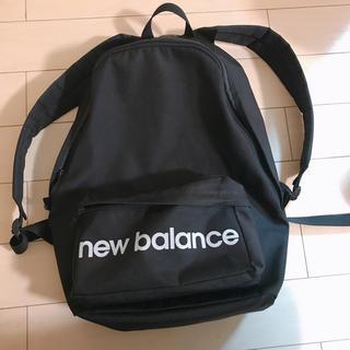 ニューバランス(New Balance)のニューバランス リュック バックパック 黒(リュック/バックパック)