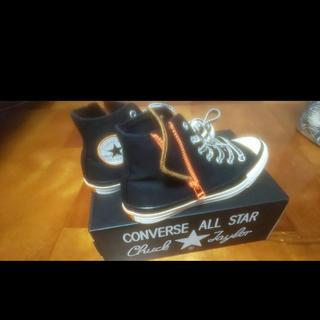 コンバース(CONVERSE)のコンバース 24センチ 黒(スニーカー)
