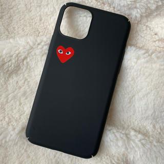 コムデギャルソン(COMME des GARCONS)のiPhoneケース ♡ 11pro ギャルソン シンプル マット 黒(iPhoneケース)