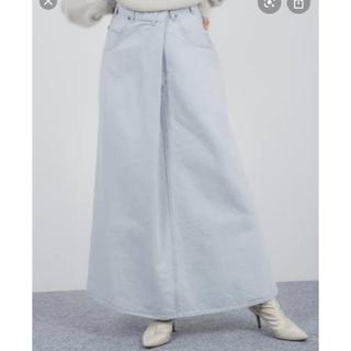 スタニングルアー(STUNNING LURE)の新品 スタニングルアー ラップデニムスカート 2月28日までの出品(ロングスカート)
