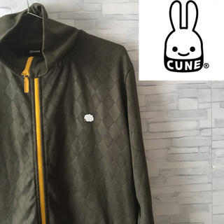 CUNE - CUNE  キューン ジャージ ダイヤパターン 羊刺繍 Lサイズ