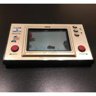 任天堂 - 任天堂 ゲームウォッチ ポパイ