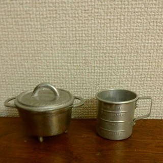 小さなアルミ雑貨 2個セット*
