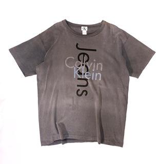 シーケーカルバンクライン(ck Calvin Klein)の《ロゴT》90s ck カルバンクライン ジーンズ Tシャツ ビッグロゴ(Tシャツ/カットソー(半袖/袖なし))