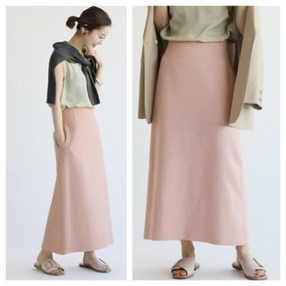 イエナ(IENA)の【新品タグ付】IENA ライトツイードスカート サイズ40(ロングスカート)