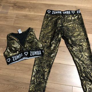 ズンバ(Zumba)の【ZUMBA】ブラトップ・レギンス(トレーニング用品)