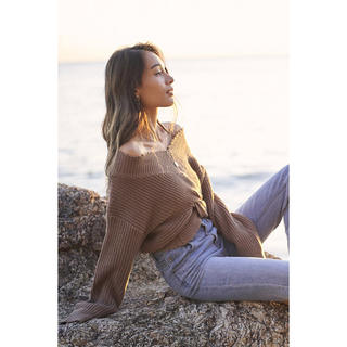 ALEXIA STAM - to the sea hawaii ニット