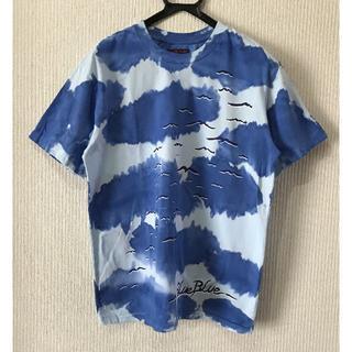 ブルーブルー(BLUE BLUE)の* BLUE/BLUE マリン ダイダイ染め 半袖 Tシャツ 3/L(Tシャツ/カットソー(半袖/袖なし))
