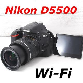 Nikon - ❤️自撮り&スマホ転送❤️バッテリー2個❤️Nikon D5500