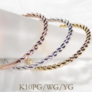 K10 PG ピンキーリングセット3号(リング(指輪))