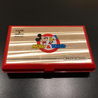 任天堂 - ゲームウォッチ ミッキーアンドドナルド