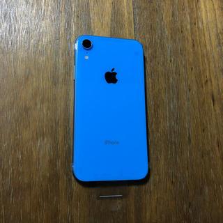 iPhone - iPhone XR 128GB  ブルー docomo  SIMフリー