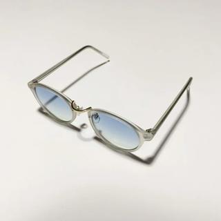 ゾフ(Zoff)のクリア サングラス ブルー zoff ゾフ jins ジンズ 白山眼鏡(サングラス/メガネ)