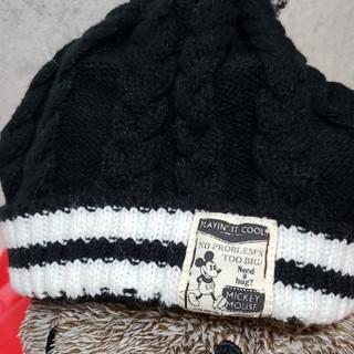 ミッキーニット帽