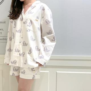 gelato pique - 新品♡定価以下♡ジェラートピケ キャットプリントシャツ ショートパンツ 上下
