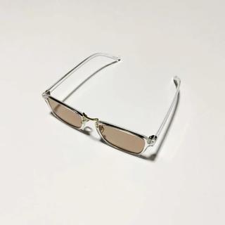 ゾフ(Zoff)のクリアフレーム サングラス  zoff ゾフ jins ジンズ 白山眼鏡(サングラス/メガネ)
