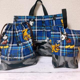 Disney - ミッキーレッスンバック 靴袋 着替え袋