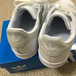 adidas - ★☆ 新品 スタンスミス 白ホワイト シルバーラメ 23cm☆★