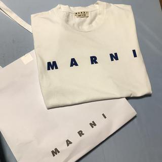 Marni - 新品未使用 marni 2020ss ロゴTシャツ