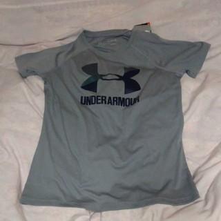 UNDER ARMOUR - アンダーアーマー ガールズTシャツ グレー 160