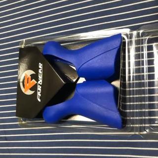 シマノ(SHIMANO)のdura-ace7900 ブラケットカバー ブルー(パーツ)