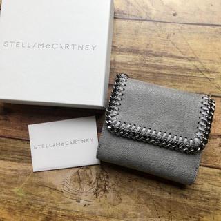 Stella McCartney - 新品 ステラマッカートニー  ファラベラ 2つ折り財布 新作 グレー