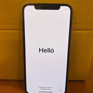 Apple - iPhone x 256gb au sim解除済み シルバー