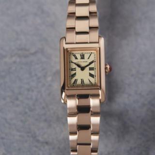 UNITED ARROWS - 腕時計★ユナイテッドアローズ★スクエア メタル ゴールド 美品 ブレスレット