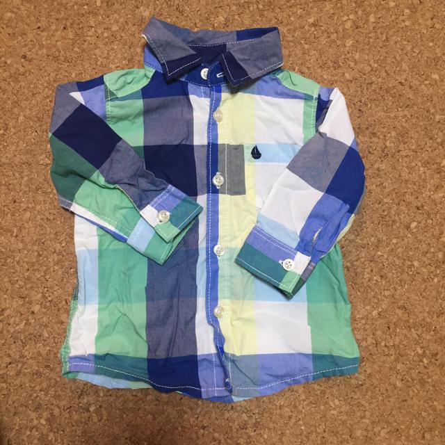 carter's(カーターズ)のカーターズ チェックシャツ 70 キッズ/ベビー/マタニティのベビー服(~85cm)(シャツ/カットソー)の商品写真