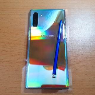 SAMSUNG - Samsung Galaxy Note 10 5G 本体のみ 美品