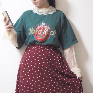 GU - ドットスカート