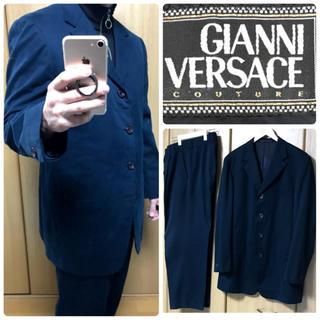 ジャンニヴェルサーチ(Gianni Versace)のGIANNI VERSACE セットアップスーツ ジャンニヴェルサーチ【希少】(セットアップ)