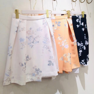 MERCURYDUO - 【新品】MERCURYDUO  花柄スカート