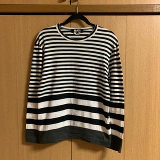 コムデギャルソン(COMME des GARCONS)の【早い者勝ち】BLACK COMME des GARCONS ロンT(Tシャツ/カットソー(七分/長袖))