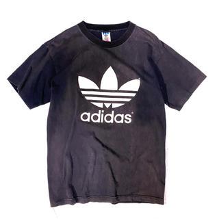 アディダス(adidas)の《ロゴT》80s adidas アディダス Tシャツ USA製 ビッグロゴ(Tシャツ/カットソー(半袖/袖なし))