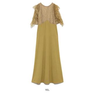 リリーブラウン(Lily Brown)の新品 完売品! リリーブラウン フリル袖切り替えドレス(ひざ丈ワンピース)