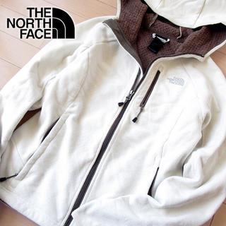 THE NORTH FACE - 美品 S ノースフェイス レディース 裏起毛 パーカージャケット アイボリー