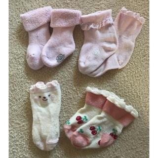 プチバトー(PETIT BATEAU)のベビー靴下 プチバトー など 4足セット 新生児(靴下/タイツ)