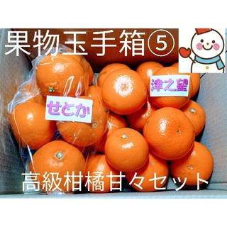 旬味果物玉手箱⑤♥せとか&津之望♥雪だるま特選(フルーツ)