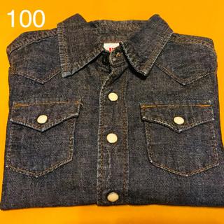 デニムシャツ 100cm