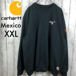 carhartt - 【美品】【激レア】【カーハート】NRGピッツバーグレスキュー☆スウェット☆XXL