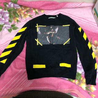 OFF-WHITE - 7 OPERE CREWNECK BLACK     OFF-WHITE