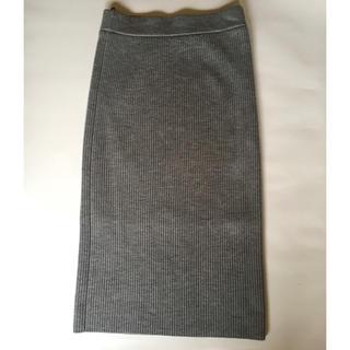 UNITED ARROWS - ユナイテッドアローズ リブニットスカート