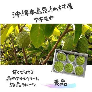 ギフトに!絶品果実・インスタ映えも!森のアイスクリーム沖縄産アテモヤ 秀品1㎏(フルーツ)