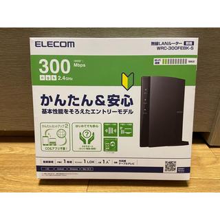 エレコム(ELECOM)のELECOM 無線LAN ルーター WRC-300FEBK-S(PC周辺機器)