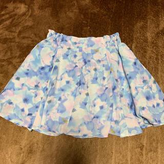 GU - kids フラワースカート