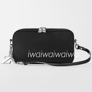 ZARA - 新品 完売品 ZARA ナイロン 素材 ボディ バッグ