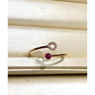 ルビーダイヤモンドリング(リング(指輪))