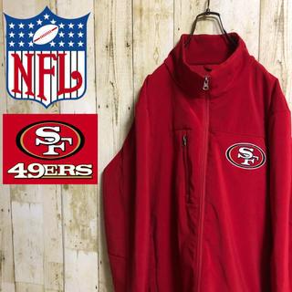 NFL SF 49ers 刺繍 エンブレム ロゴ ジャケット ブルゾン