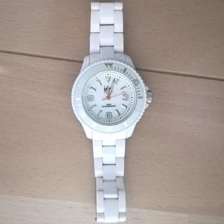 アイスウォッチ(ice watch)のアイスウォッチ レディース ホワイト(腕時計)